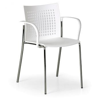 Jídelní židle COFFEE BREAK bílá