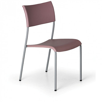 Jídelní židle FOREVER růžová
