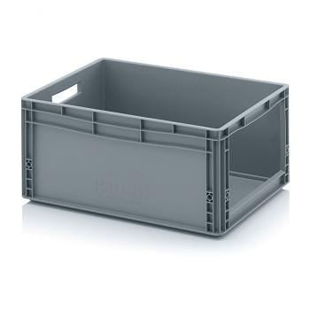 Plastová přepravky s vkladovým otvorem 600x400x220 mm