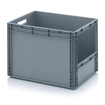 Plastová přepravky s vkladovým otvorem 600x400x420 mm