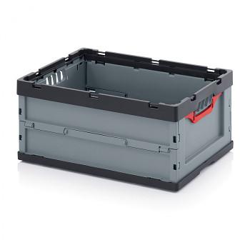 Skládací přepravka bez víka, 600x400x270 mm