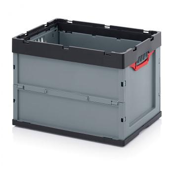 Skládací přepravka bez víka, 600x400x420 mm