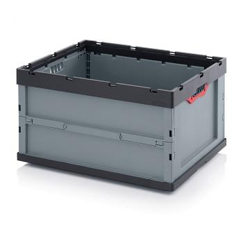 Skládací přepravka bez víka, 800x600x445 mm