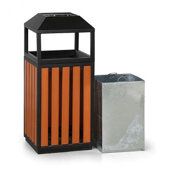 Venkovní odpadkový koš s popelníkem 414031