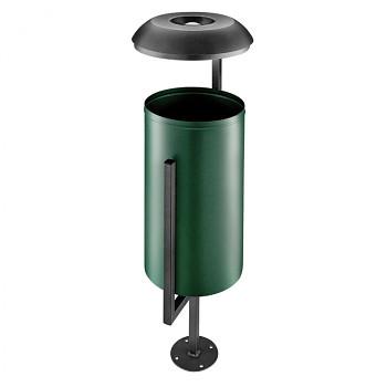 Odpadkový koš zelený
