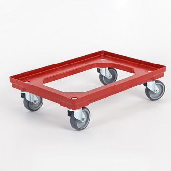 Plastový vozík na přepravky