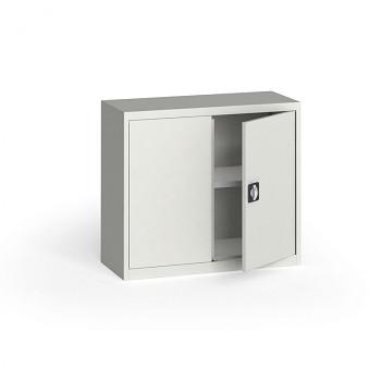 Kovová skříň  800x 950x400 mm, šedá/šedá, 60 kg na polici