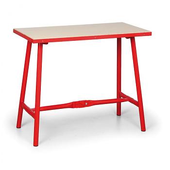 Dílenský stůl skládací, 1000x 500x 845 mm