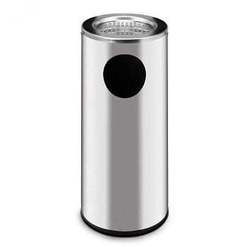 Odpadkový koš s popelníkem  690x300 nerez matná