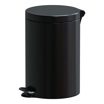 Nášlapný koš 12 l, lak černý