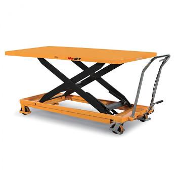 Hydraulický zvedací stůl, nosnost 1000 kg, zdvih 1360 mm