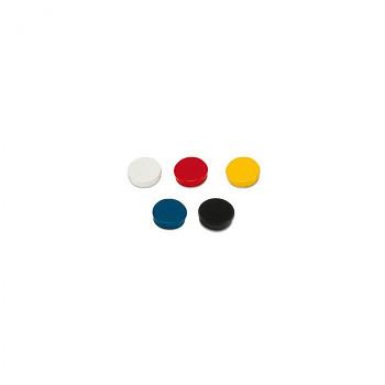 Sada magnetů pro popisovací tabule, mix barev, 50 ks