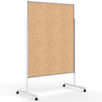 Informační tabule 1200x1500 mm, mobilní, korek