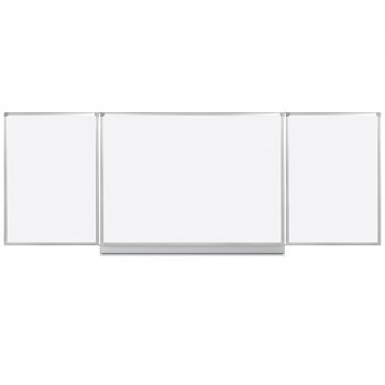 Bílá otevírací magnetická tabule 3600x1200 mm