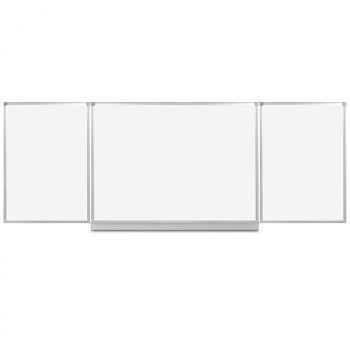 Bílá otevírací magnetická tabule 4000x1200 mm