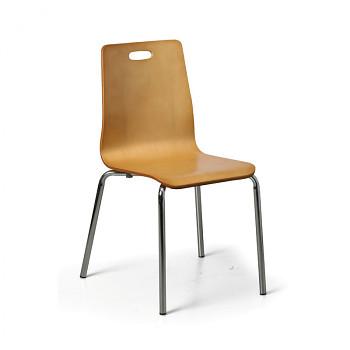 Židle BETTY přírodní 4 ks