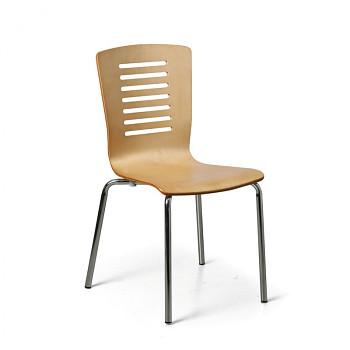 Židle LINE přírodní 4 ks