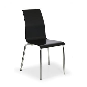 Židle BELLA černá 4 ks