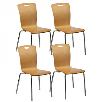 Židle RITA 4 ks