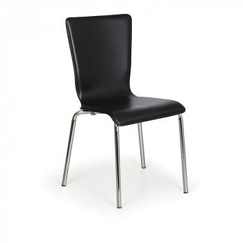 Židle CAPRIO černá 4 ks