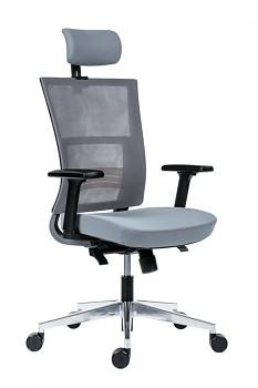 Kancelářská židle DELPHI šedá