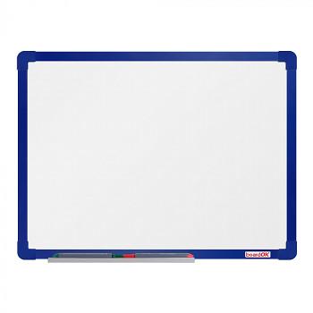 Magnetická tabule  600x 450 mm, modrý rám