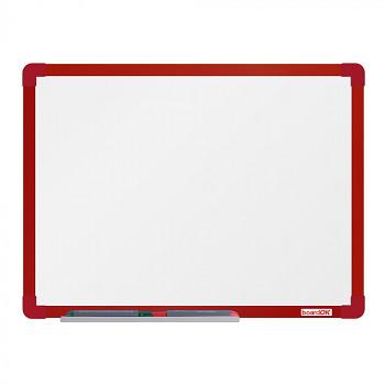 Magnetická tabule  600x 450 mm, červený rám