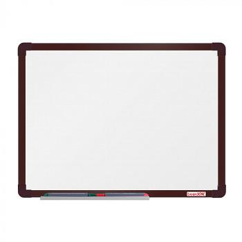 Magnetická tabule  600x 450 mm, hnědý rám
