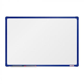 Magnetická tabule  900x 600 mm, modrý rám