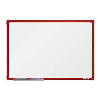 Magnetická tabule  900x 600 mm, červený rám