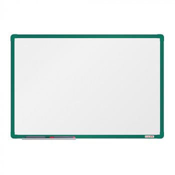 Magnetická tabule  900x 600 mm, zelený rám
