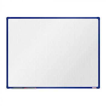 Magnetická tabule 1200x 900 mm, modrý rám