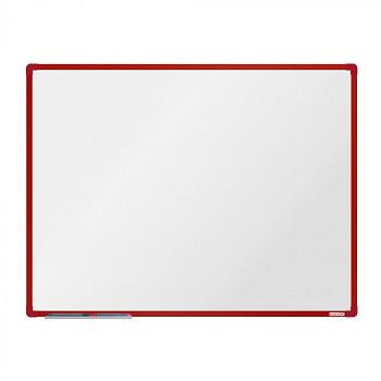 Magnetická tabule 1200x 900 mm, červený rám