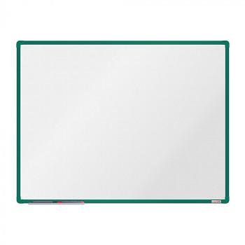 Magnetická tabule 1200x 900 mm, zelený rám
