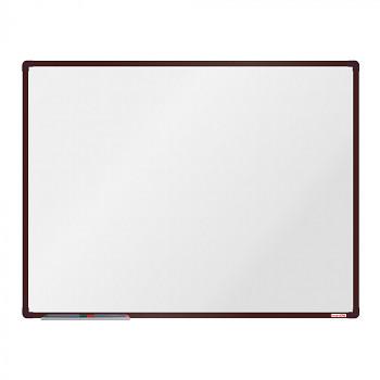 Magnetická tabule 1200x 900 mm, hnědý rám