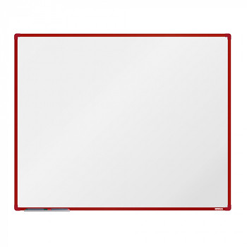 Magnetická tabule 1500x1200 mm, červený rám