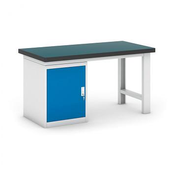 Dílenský stůl GB 500, 1500 mm + kontejner skříň podstavný