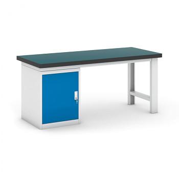 Dílenský stůl GB 500, 1800 mm + kontejner skříň podstavný