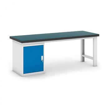 Dílenský stůl GB 500, 2100 mm + kontejner skříň podstavný