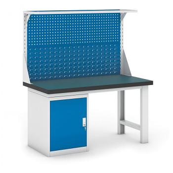Dílenský stůl GB 500, 1500 mm + kontejner skříň podstavný + nástavba