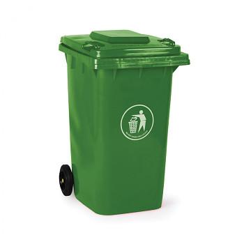 Plastová popelnice 240 litrů, zelená