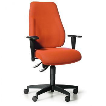 Kancelářská židle EXETER LADY oranžová