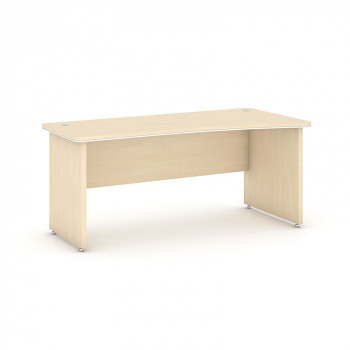 Kancelářský stůl ARRISTO LUX oblouk pravý, 1800x900x762, bříza