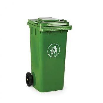 Plastová popelnice 120 litrů, zelená