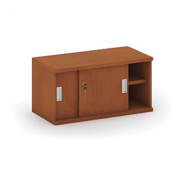 Nástavba skříně,  800x 400x400, třešeň, posuv, MIRELLI A+