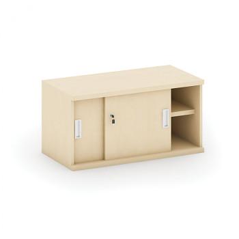 Nástavba skříně,  800x 400x400, bříza, posuv, MIRELLI A+