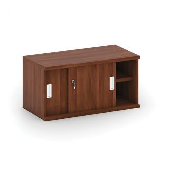 Nástavba skříně,  800x 400x400, ořech, posuv, MIRELLI A+