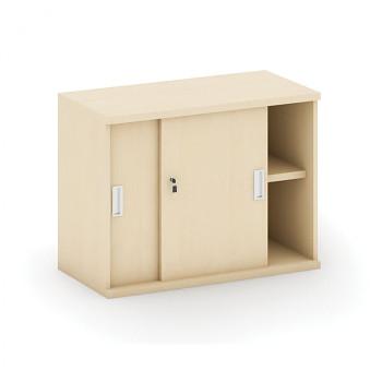 Nástavba skříně,  800x 600x400, bříza, posuv, MIRELLI A+