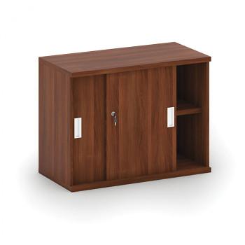 Nástavba skříně,  800x 600x400, ořech, posuv, MIRELLI A+