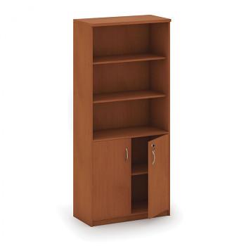 Kancelářská skříň, 1800x 800x400, třešeň, kombinovaná, MIRELLI A+